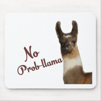 No Probllama Mouse Pad