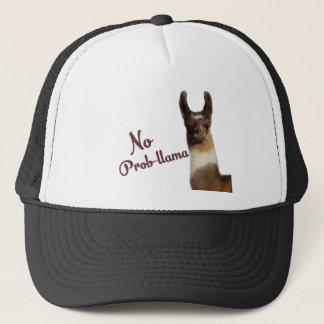 No Probllama Trucker Hat