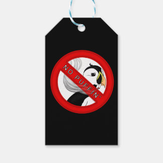 No Puffin Gift Tags