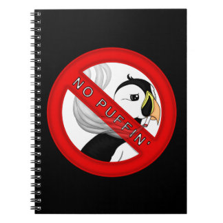 No Puffin Notebook