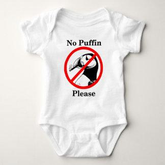 No Puffin Please Baby Bodysuit