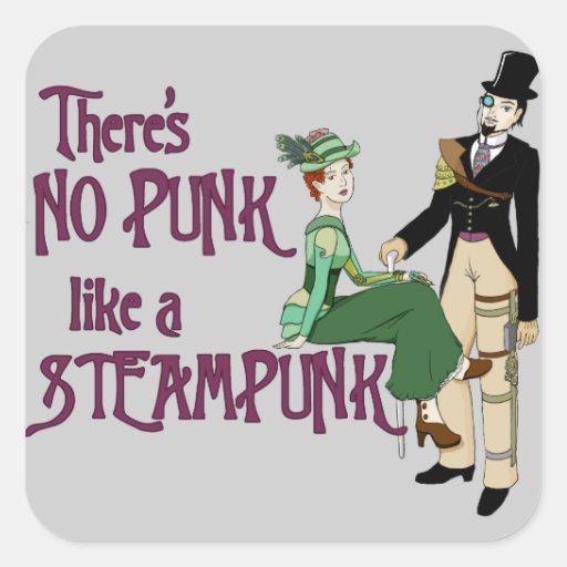 No Punk like a Steampunk Stickers