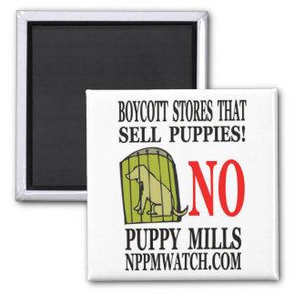 No Puppy Mills Magnet