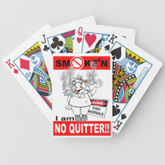 NO QUITTER_1 BICYCLE PLAYING CARDS