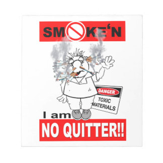 NO QUITTER_1 NOTEPAD