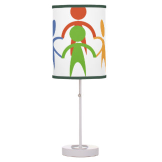 No Racism Allowed Table Lamp