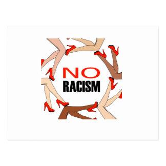 No racism postcard