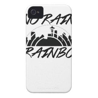 No Rain iPhone 4 Case