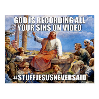 No Record of Wrongs (SJNS) Postcard