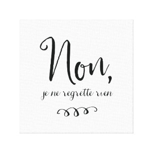 French Quotes   French Quotes Canvas Prints Wall Art Zazzle Ca