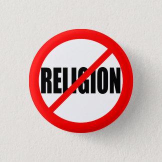 """NO RELIGION"" 1 INCH ROUND BUTTON"