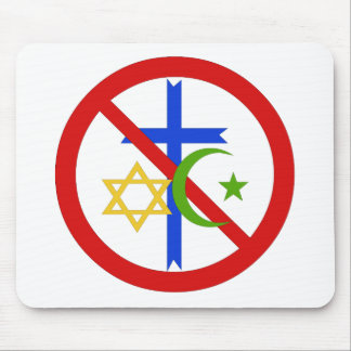 No Religion Mouse Pad