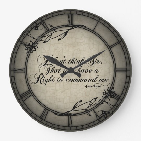 No Right To Command Me Wallclock