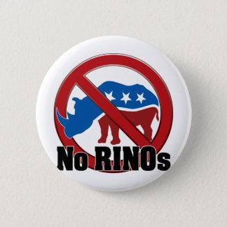 No RINOs 2 Inch Round Button