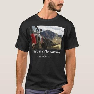 No Road - No Worries - Colorado T-Shirt
