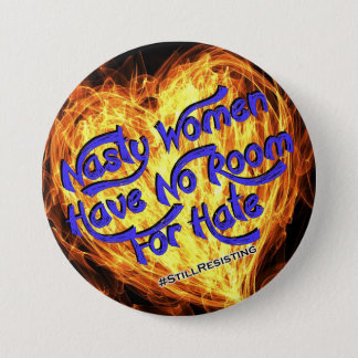No Room For Hate 3 Inch Round Button