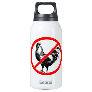 No Rooster?! Insulated Water Bottle