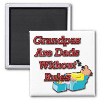 No Rule Grandpa Magnet
