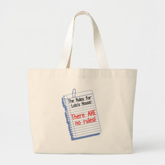 No Rules at Lolo s House Tote Bags