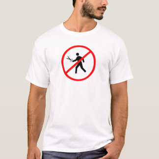 No running with scissors! T-Shirt