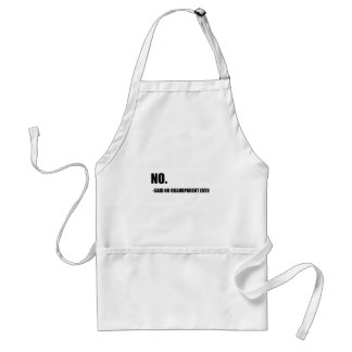 No Said No Grandparent Ever Standard Apron