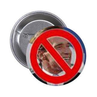 No Schwarzenegger! 2 Inch Round Button