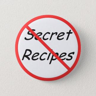 No Secret Recipes button
