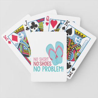 No Shoes Bicycle Playing Cards