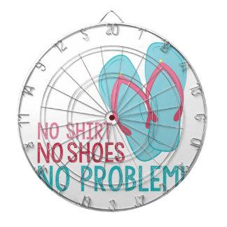 No Shoes Dart Board