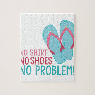 No Shoes Jigsaw Puzzle