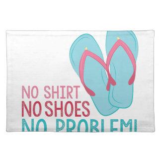 No Shoes Placemat