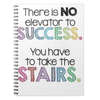 No Shortcut to Success Notebooks