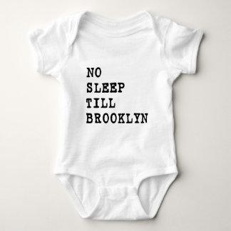 No Sleep Till Brooklyn! Baby Bodysuit