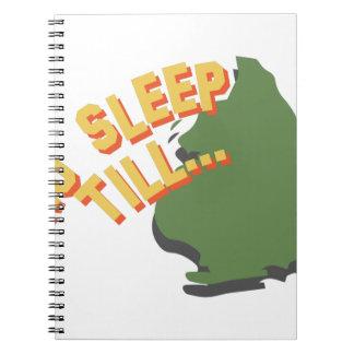 No Sleep Till Notebook