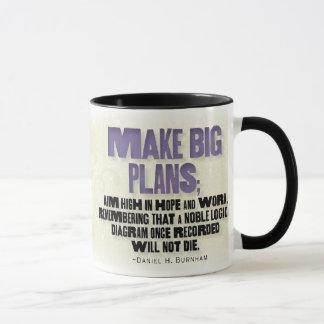 No Small Plans mug