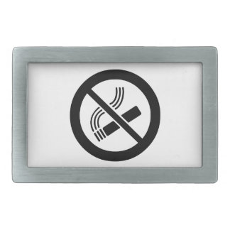 No Smoking Belt Buckles