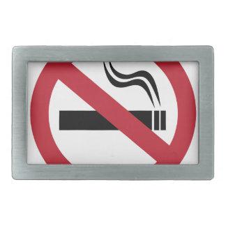 No Smoking Belt Buckles