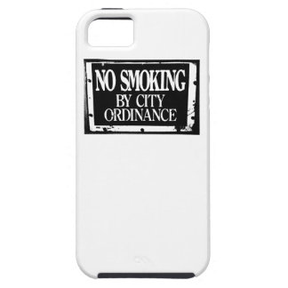 No Smoking By City Ordinance iPhone 5/5S Cover