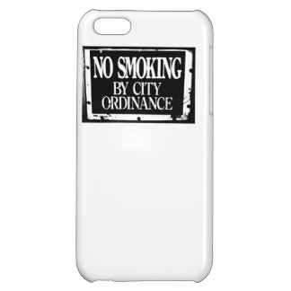 No Smoking By City Ordinance iPhone 5C Cover