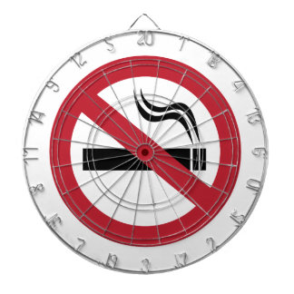 No Smoking Dartboard