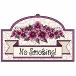 """""""No Smoking"""" - Decorative Sign - 12 Photo Sculptures"""