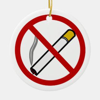 No Smoking Door Knob Ornament