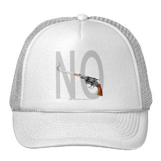 NO SMOKING GUNS TRUCKER HAT