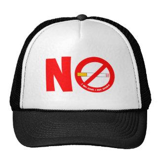 No Smoking Mesh Hats