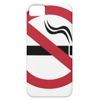 No Smoking iPhone 5 Covers
