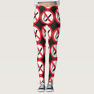 no smoking leggings