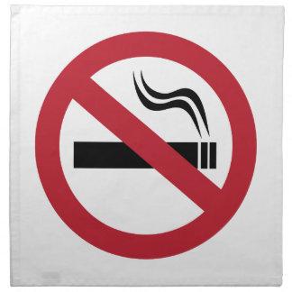 No Smoking Napkin