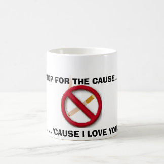 no smoking sign coffee mug