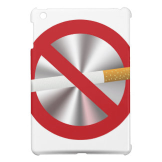 no smoking sign iPad mini cover