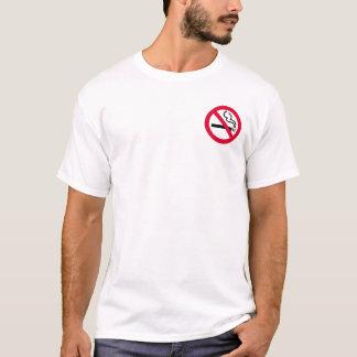No-Smoking Symbol (3 inch pocket) T-Shirt